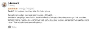 Testimoni Translate 1