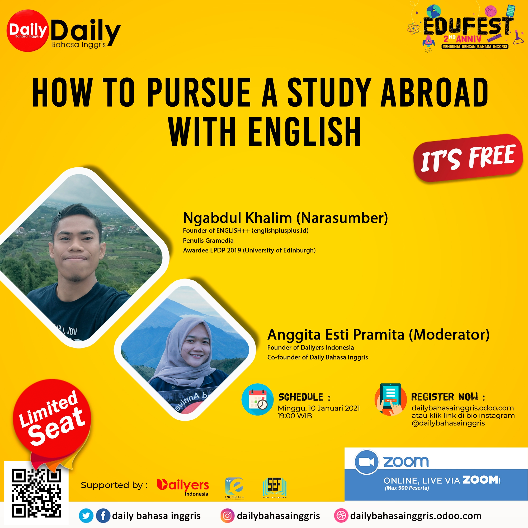 How to Pursue a Study Abroad with English