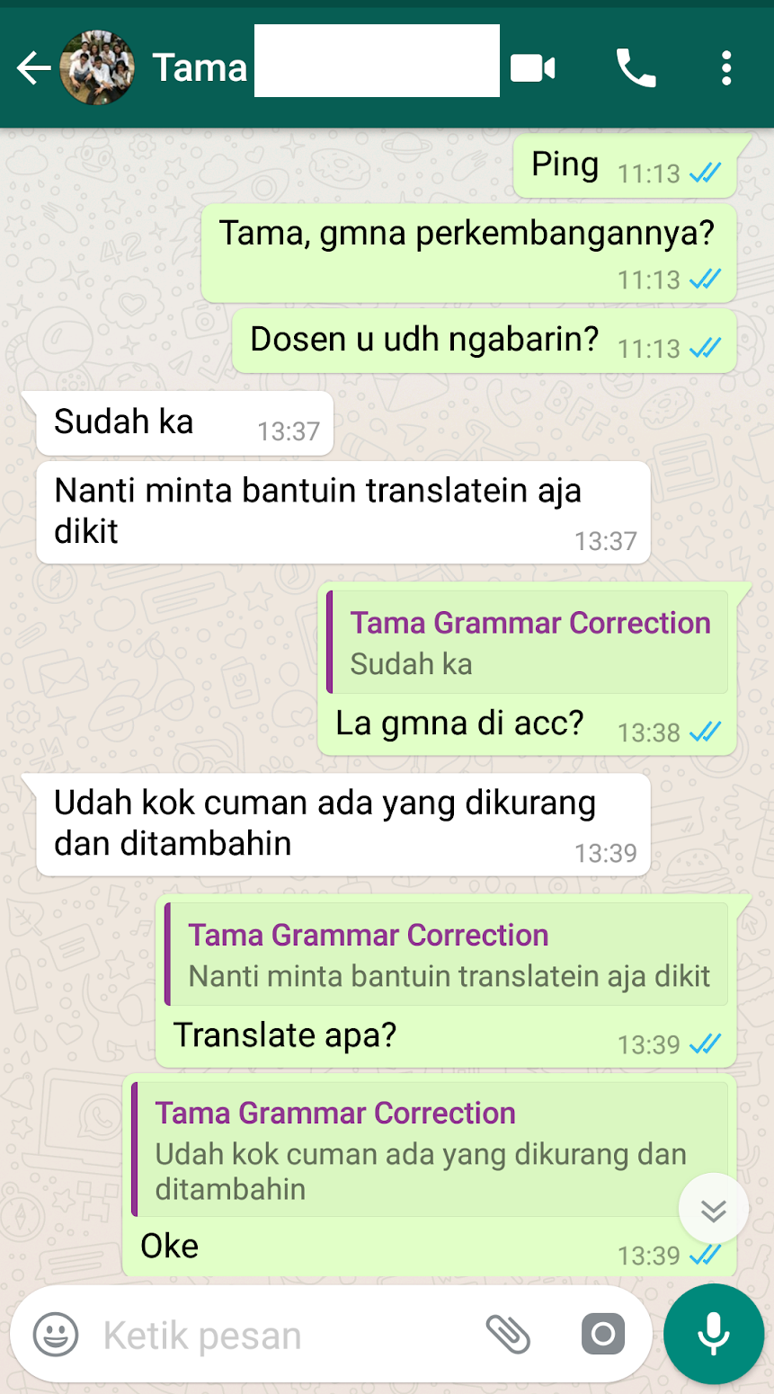 Testimoni Jasa Proofread 15