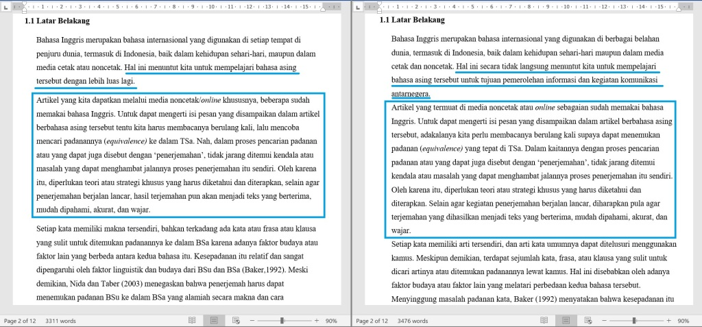 Contoh Proofread Bahasa Indonesia 3